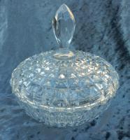 Nachtmann Bleikristall Schale, Bonboniere, edler Schliff