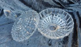 Foto 2 Nachtmann Bleikristall Schale, Bonboniere, edler Schliff