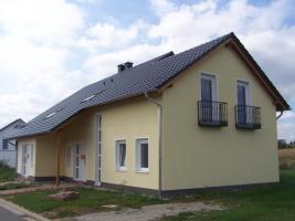 Foto 2 Nähe Saarbrücken: Doppelhaushälfte mit unverbaubarer  Aussicht auf das Feld in Kleinblittersdorf / Sitterswald (Sackgasse)
