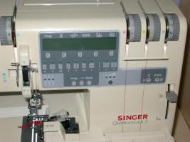 Foto 2 Nähmaschine Singer Quantumlock Top-Zustand