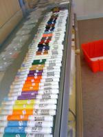 Nagelkosmetik Shop Produkte Verkauf im Ladengeschäft