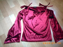 Nagelneue, nie getragene, extravagante Bluse, Gr. S