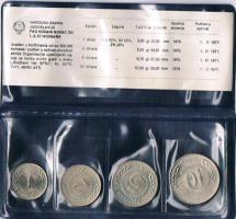 Narodna Banka Jugoslavije '' 4 '' Münzen im Etui ! !