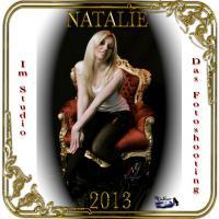 Natalie im Studio