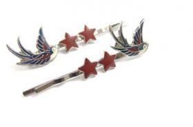 ' Nautical Swallow ' Haarspangen