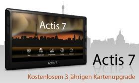 Navigationssystem Actis 7