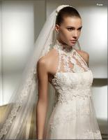 Foto 2 Neckholder I Linie Brautkleid Hochzeitskleid Neu Gr.34-Gr.58 von Modekarusell