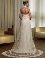 Foto 3 Neckholder I Linie Brautkleid Hochzeitskleid Neu Gr.34-Gr.58 von Modekarusell