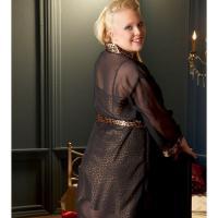 Foto 2 Neglig� und Kimono im Leo-Design Gr. XI - OVP