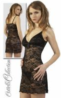 Foto 3 Negligee schwarz - transparent
