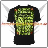 Neon Schwarz FancyBeast Clubwear Shirt NEU!
