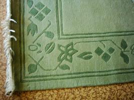 Nepal - Landhausstil - klassisches Design - handgekn�pft - reine Wolle