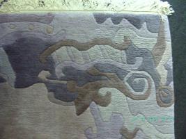 Foto 2 Nepal - modernes Design - Wolle - handgeknüpft - ca. 300 x 250 cm