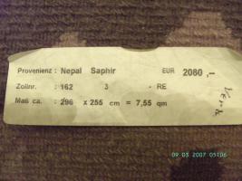 Foto 3 Nepal - modernes Design - Wolle - handgeknüpft - ca. 300 x 250 cm