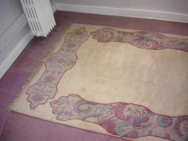 Nepalteppich handgeknüpft  1,7m breit – 2,58m lang