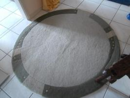 Nepalteppich rund