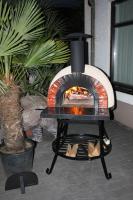 Foto 3 Neu!! Pizzaofen / Steinofen / Holzbackofen Amalfi Red Brick AD70