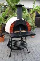 Foto 17 Neu!! Pizzaofen / Steinofen / Holzbackofen Amalfi Red Brick AD70