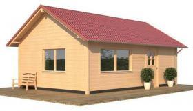 Neu!!! Selber planen auf unserer Website-Wohnlauben-Fertighaus Bausatz als winterfestes Ferienhaus
