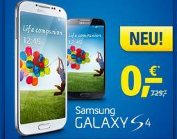 Neu! Das neue Flaggschiff Samsung Galaxy S 4 ab 0, - €