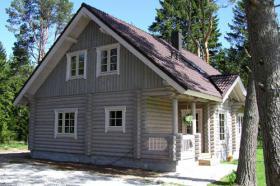 Neubau Angebot Blockhaus Einfamilienhaus auf dem Peloponnes/Griechenland