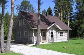 Neubau Angebot Blockhaus auf dem Peloponnes/Griechenland