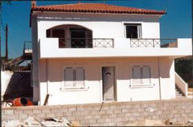 Neubau Einfamiliehaus nahe Tolon/Griechenland