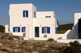 Neubau Einfamilienhäuser auf Paros/Griechenland