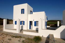 Neubau Einfamilienhaus auf der Insel Paros/Kykladen/Griechenland