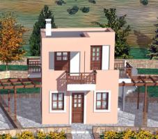 Neubau Einfamilienhaus auf Karpathos/Griechenland