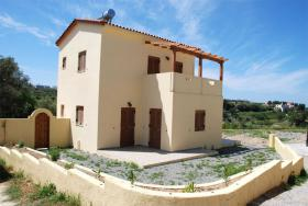 Neubau Fertigbauhaus auf Kreta/Griechenland