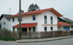 Neubau Fertigbauhaus auf Methana/Griechenland