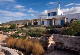 Neubau Traditionelles Einfamilienhaus auf Naxos/Griechenland
