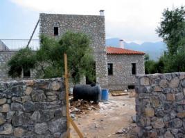 Neubauangebot aus Naturstein nahe Kalamata/Griechenland