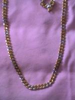 Foto 2 Neue 2 Farbige 18 Karat Goldfilled Halskette