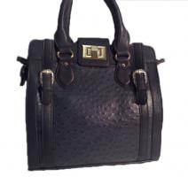 Neue David Jones Handtasche Designertasche Markentasche Shopper Bag dunkelblau Schultertasche Shoppertasche Citytasche