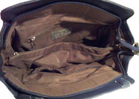 Foto 4 Neue David Jones Handtasche Designertasche Markentasche Shopper Bag dunkelblau Schultertasche Shoppertasche Citytasche
