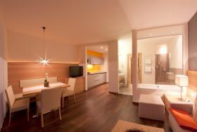 Foto 8 Neue Design Appartements in Südtirol im Aparthotel Alagundis bei Meran