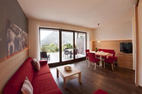 Foto 12 Neue Design Appartements in Südtirol im Aparthotel Alagundis bei Meran