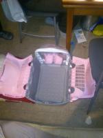 Foto 3 Neue Katzentransport-Box der Marke Caprio neu Preis 32 Euro abgabepreis f�r 30 Euro