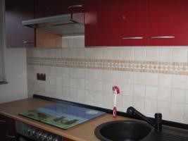 Neue Küchenzeile 270 cm Buche-rot inkl. E-Geräte Edelstahl Glaskeramik zu verkaufen