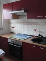 Foto 3 Neue Küchenzeile 270 cm Buche-rot inkl. E-Geräte Edelstahl Glaskeramik zu verkaufen