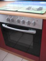 Foto 7 Neue Küchenzeile 270 cm Buche-rot inkl. E-Geräte Edelstahl Glaskeramik zu verkaufen