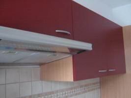 Foto 10 Neue Küchenzeile 270 cm Buche-rot inkl. E-Geräte Edelstahl Glaskeramik zu verkaufen