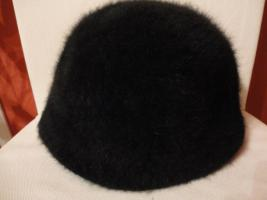 Neue M�tze Hut Damen schwarz