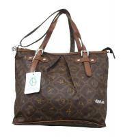 Neue Tasche von Giulia Pieralli Designertasche Damentasche Shopper Bag in Braun Schultertasche Stadttasche
