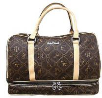 Neue Tasche Giulia Pieralli beige mit Doppelboden Shopper bag Shoppertasche praktische Tasche