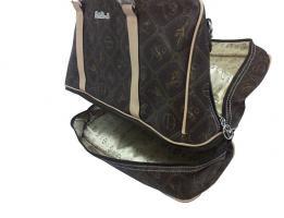 Foto 2 Neue Tasche Giulia Pieralli beige mit Doppelboden Shopper bag Shoppertasche praktische Tasche