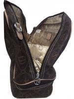 Foto 4 Neue Tasche Giulia Pieralli beige mit Doppelboden Shopper bag Shoppertasche praktische Tasche