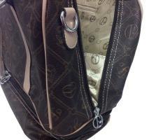 Foto 5 Neue Tasche Giulia Pieralli beige mit Doppelboden Shopper bag Shoppertasche praktische Tasche